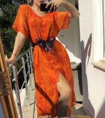 Duga Orange Haljina