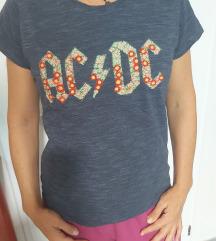 ROK AC-DC CVETNA MAJICA RASPRODAJA ❤️