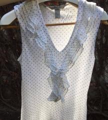 snizenoH&M bluza sa karnericem na tufnice