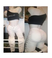 Re-Dress bele pantalone S/M SNIZENO SA 2000