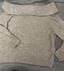 H&M baggy džemper vel.S