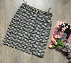 Retro vunena suknja