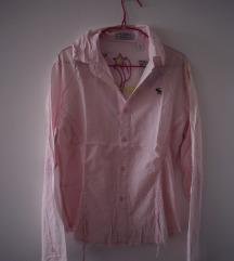 Roze lagana košulja