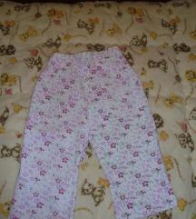 Letnje cvetne pantalonice za bebe 18mes. ili 86