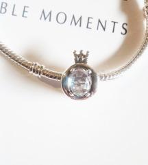 Pandora Moments O kruna 👑,S925, NOVO