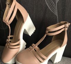 SNIŽENJE Cipele NUDE
