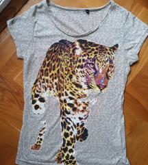 * Leopard krem majca