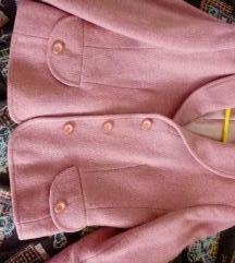 sako jaknica puder roza AKCIJA