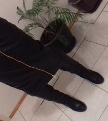 Duga kozna suknja