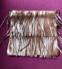 SADA 650! puder roze metalik torba sa resama