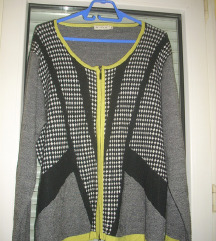 MICHA odličan džemper sa rajsferšlusom XXL