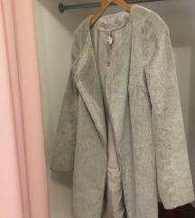 Predivan kaput/bunda siva boja snizenaaaaa