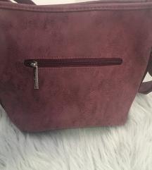 Bordo NOVA kozna torbica