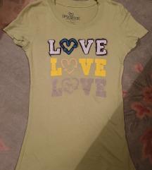 PINK VICTORIA'S SECRET zelena majica