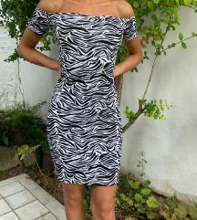 H&M zebrasta haljina