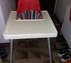 POKLANJAM Stolica za bebe IKEA