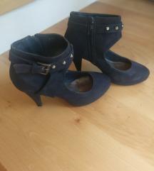 Plave cipele na štiklu