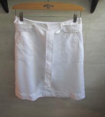 H&M    bela lan suknja