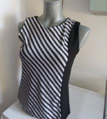 Crno bele pruge majica S/M