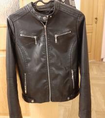 Crna kozna jaknica