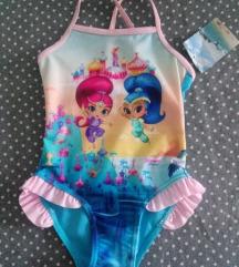 Shimmer and Shine, kupaći kostim za devojčicu