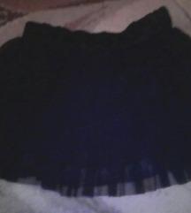 crna mini suknjica od tila RASPRODAJA