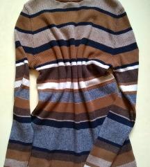 NEW LOOK rib knit jumper pamucno meko tkanje