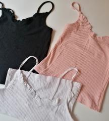 Tri majice xs/34