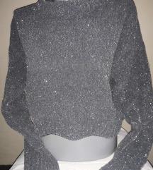 Zara šljokičavi džemper