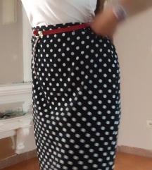 Mango suknja na tufne