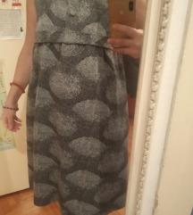 Elegantna sivena haljina