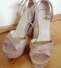 Roze sandale 37