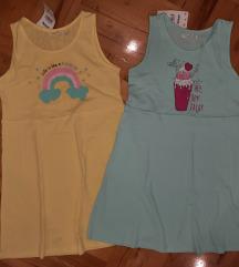 Dve nove haljinice vel. 134 za 990 dinara