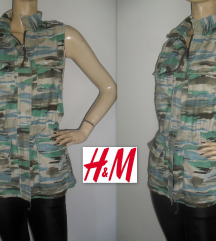 H&M, military prsluk!