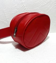Crvena belt torba