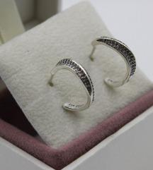 Pandora Elegant Waves mindjuse srebro
