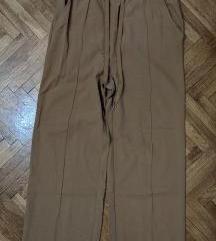 Široke duboke ženske pantalone