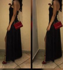 elegantna duga crna haljina