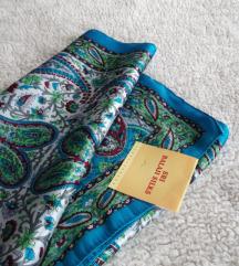 Nova  Balaji Silks svilena marama/sal sa etiketom