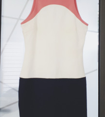 Trobojna casual haljina M/L, SNIŽENA 400