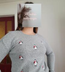 džemperić sa pingvinima🥰