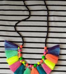 Boho/hipi ogrlica