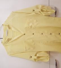 Žuta košulja sa 3/4 rukavima