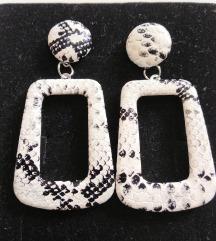 Snake skin crno bele
