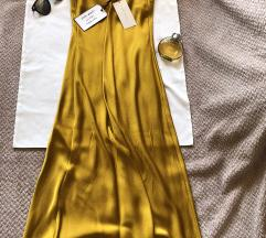 Rez ZARA WOMAN NOVA dugacka haljina S sa etiketom