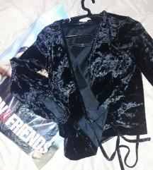 bluza na preklop_ pliš | KOTON