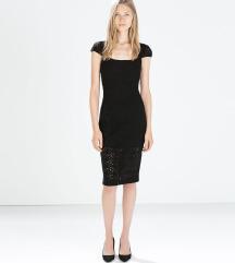 zara mala crna haljina snizeno