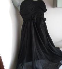 Danity crna top haljina L