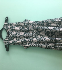 H&M zelena letnja haljina