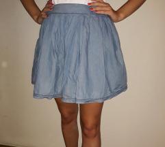 Kratka teksas suknja Tommy Hilfiger